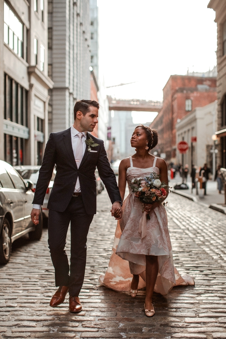 Wedding in Brooklyn Bridge DUMBO by wedding photographer Jose Melgarejo