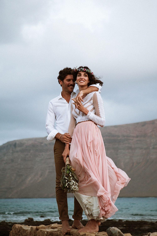 Destination Wedding on the Beach in the Canary Islands, Spain