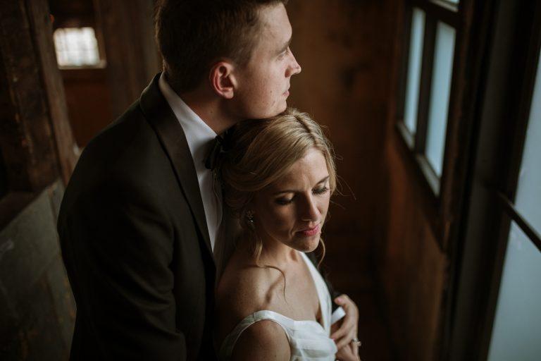 Greenpoint Loft Brooklyn Rooftop Wedding Photography