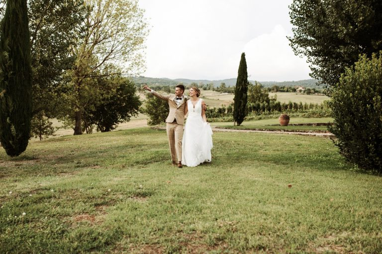 Destination Wedding in Tuscany Italy
