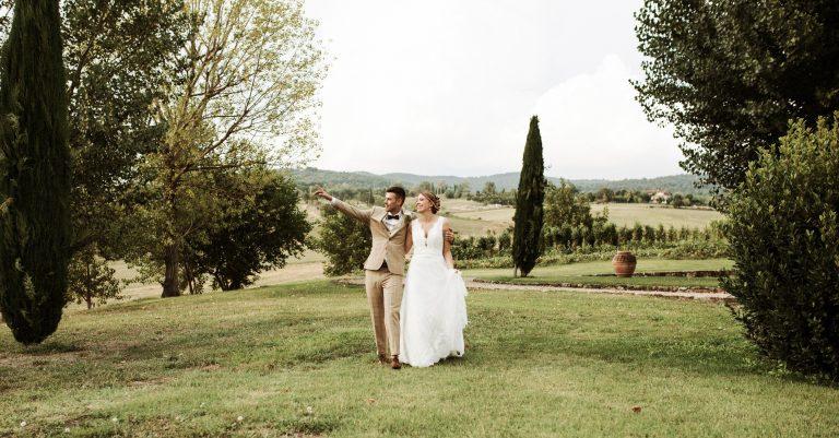 Destination Wedding in Tuscany Italy